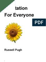 4543417 Meditation for EveryoneRussel Pugh