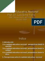 20081104 Realidad Educativa