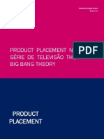 Product Placement em The Big Bang Theory