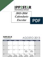 KIPP STAR Elementary - Important Dates (Spanish) 2013-14