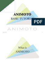 Animoto Basic Tutorial