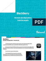 Blackberry Guia Borrado de Dispositivo