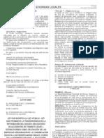 Ley de Transparencia de Informacion en SOAT - Ley 28515 (Modifica)