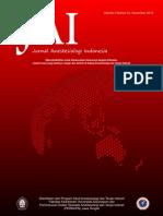 Jurnal Anestesiologi Indonesia