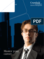 Msc Finance and Management