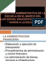 Administracion Economica y Financiera.