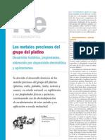 Recubrimientos. Metales preciosos del grupo del platino.pdf