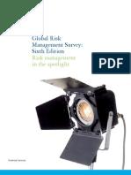 Deloitte Risk Management Survey