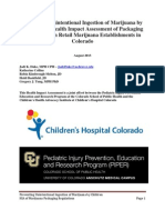Preventing Unintentional Ingestion of Marijuana by Children