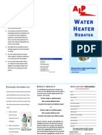 Water Heater Program