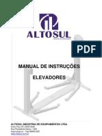 ELEVADORES AUTOMOTIVOS - CHAVE REVERSORA TRIFÁSCIA