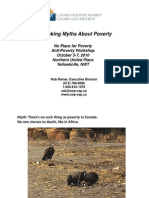 Debunking Myths About Poverty