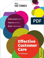 Building Effective Customer Care