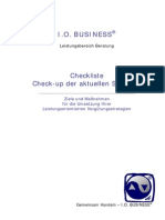 Checkliste Variable Vergütung