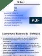 Fund Redes FATEC4 Cabeamento Estruturado SI