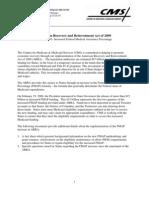 CMS PublishedARRA FMAP Factsheet