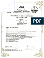 zakadka pod  zdrowiem - suplementy - nutrilite  - kontrola i certyfikaty - organic certification