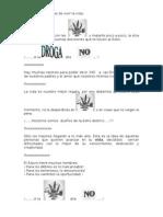BANDEROLA DROGAS