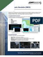 EW Scenario Simulator (EWSS) Fact Sheet