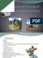 Participación del Turismo en la Economía del Perú