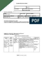 Planeacion de Conformado de Metales 2012