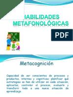 Habilidades Metafonológicas