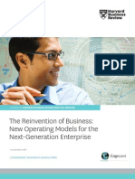 The Reinvention of Business New Operating Models