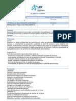 Gestão de Serviços - Plano de Ensino Institucional F Paulo