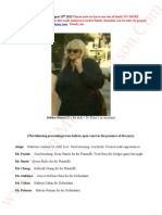 Katherine Jackson V AEG Live Transcripts of Debbie Rowe (MJ's Ex wife-Dr Klein's Ex assistant  August 15th 2013