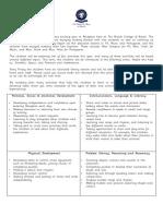 term 1 curriculum letter reception 2013 -14