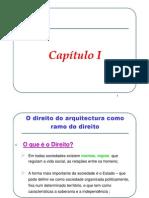 1. Cap. I . 1.Cap. I - Noção de direito e de Direito da Arquitectura [Modo de Compatibilidade] (1)