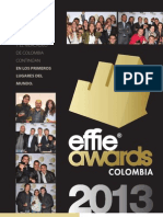 Revista Anda 51 - Effie Awards Colombia 2013