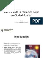 Medición de la radiación solar