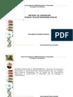 Métodos de separacion y tecnicas de  EFC