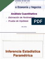 2011 Prueba de Hipotesis 1erParte