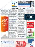 Pharmacy Daily for Fri 23 Aug 2013 - Medicine research grant, Coalition commits to PBS, $32k ironclad promise, Tambassis for PAC and much more