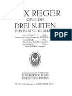 Reger Suites Op.131 for Viola