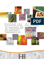 Manual Agabê de preparação de matrizes serigráficas
