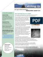 SEQ Catchments Catching Up Newsletter Logan August 2013