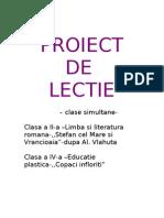 Proiect Romana