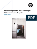Hp Switching and Routing Technologies