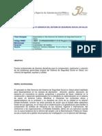 Especializacion en Alta Gerencia Del Sistema de Seguridad Social en Salud