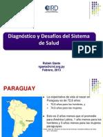 Diagnóstico y Desafios del Sistema de Salud del Paraguay_RGaete
