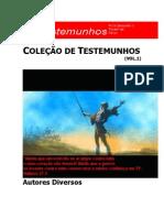Colecao de Testemunhos Evangélicos Vol.1