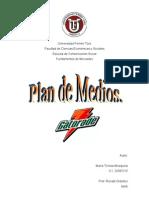 Plan de Medios - Gatorade