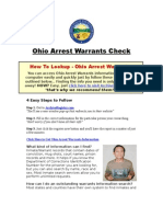 Ohio Arrest Warrants - Arrest Warrants Search