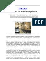 En búsqueda de una nueva prédica_La Nación