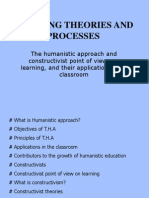 Humanistic-Constructivist Theories 2013 (1)