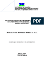 SISTEMAS PRODUTIVOS DE MAMONA  PARA A PRODUÇÃO DE MATÉRIA-PRIMA PARA BIODIESEL NA REGIÃO NORDESTE DO BRASIL