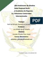 Perfil de Mercado (Garbanzo)VICTOR GONZALEZ